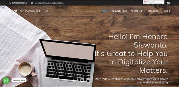 website hendro siswanto com