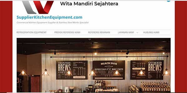 website supplier-kitchen-equipment