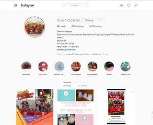 instagram Dominica Parcel